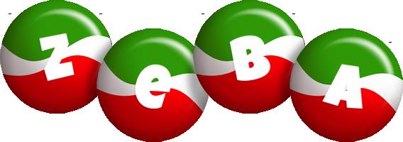 Zeba italy logo