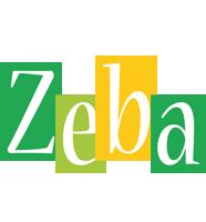 Zeba lemonade logo