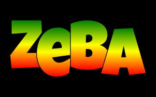 Zeba mango logo