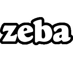 Zeba panda logo