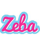 Zeba popstar logo