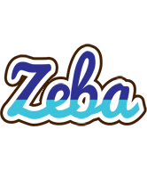 Zeba raining logo