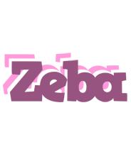 Zeba relaxing logo