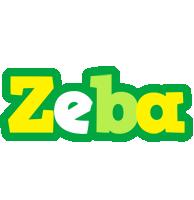 Zeba soccer logo
