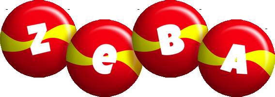 Zeba spain logo