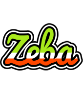 Zeba superfun logo