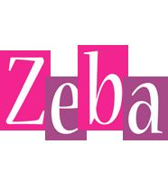 Zeba whine logo