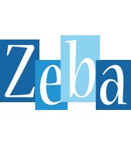 Zeba winter logo