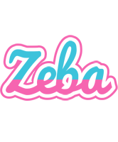 Zeba woman logo