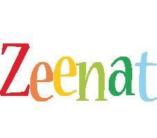Zeenat birthday logo