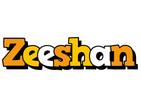 Zeeshan cartoon logo