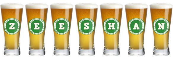 Zeeshan lager logo
