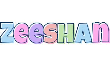 Zeeshan pastel logo