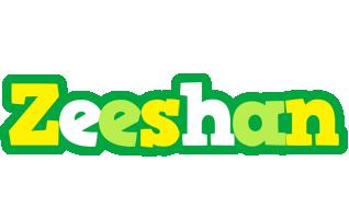 Zeeshan soccer logo