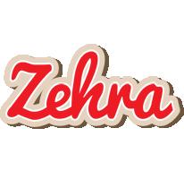 Zehra chocolate logo