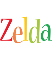 Zelda birthday logo