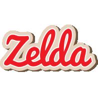 Zelda chocolate logo
