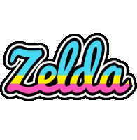 Zelda circus logo