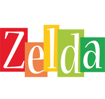 Zelda colors logo
