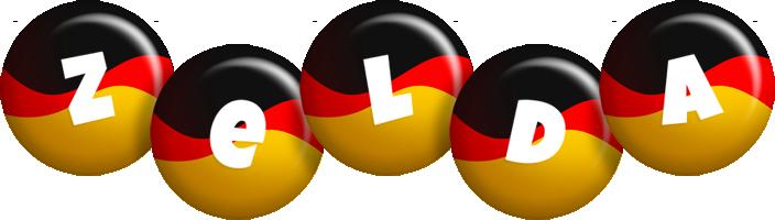 Zelda german logo