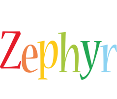 Zephyr birthday logo