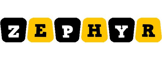 Zephyr boots logo