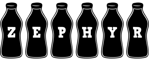 Zephyr bottle logo