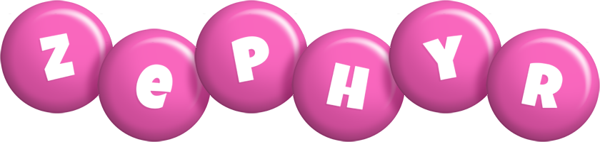 Zephyr candy-pink logo