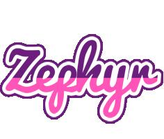 Zephyr cheerful logo