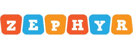 Zephyr comics logo