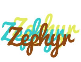 Zephyr cupcake logo