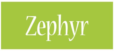Zephyr family logo