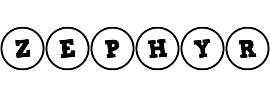 Zephyr handy logo