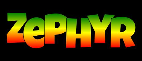 Zephyr mango logo