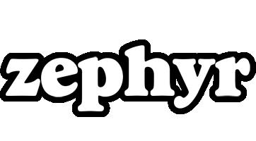 Zephyr panda logo
