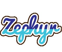 Zephyr raining logo
