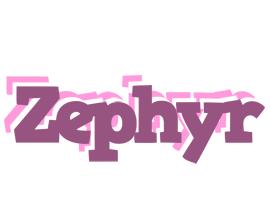Zephyr relaxing logo