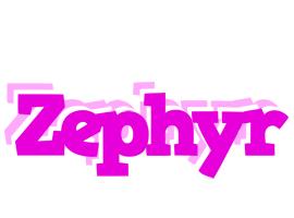 Zephyr rumba logo