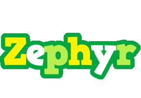 Zephyr soccer logo