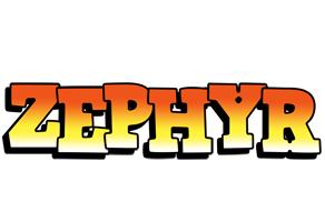 Zephyr sunset logo