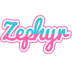 Zephyr woman logo