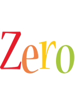 Zero birthday logo