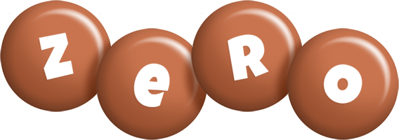 Zero candy-brown logo