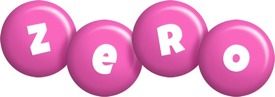 Zero candy-pink logo