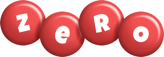 Zero candy-red logo