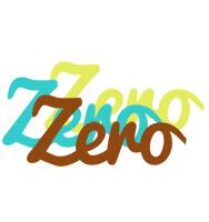 Zero cupcake logo