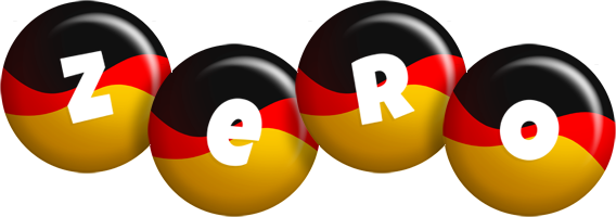 Zero german logo