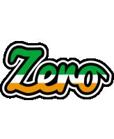 Zero ireland logo