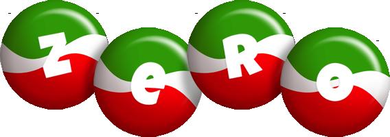 Zero italy logo