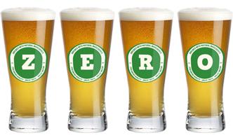 Zero lager logo